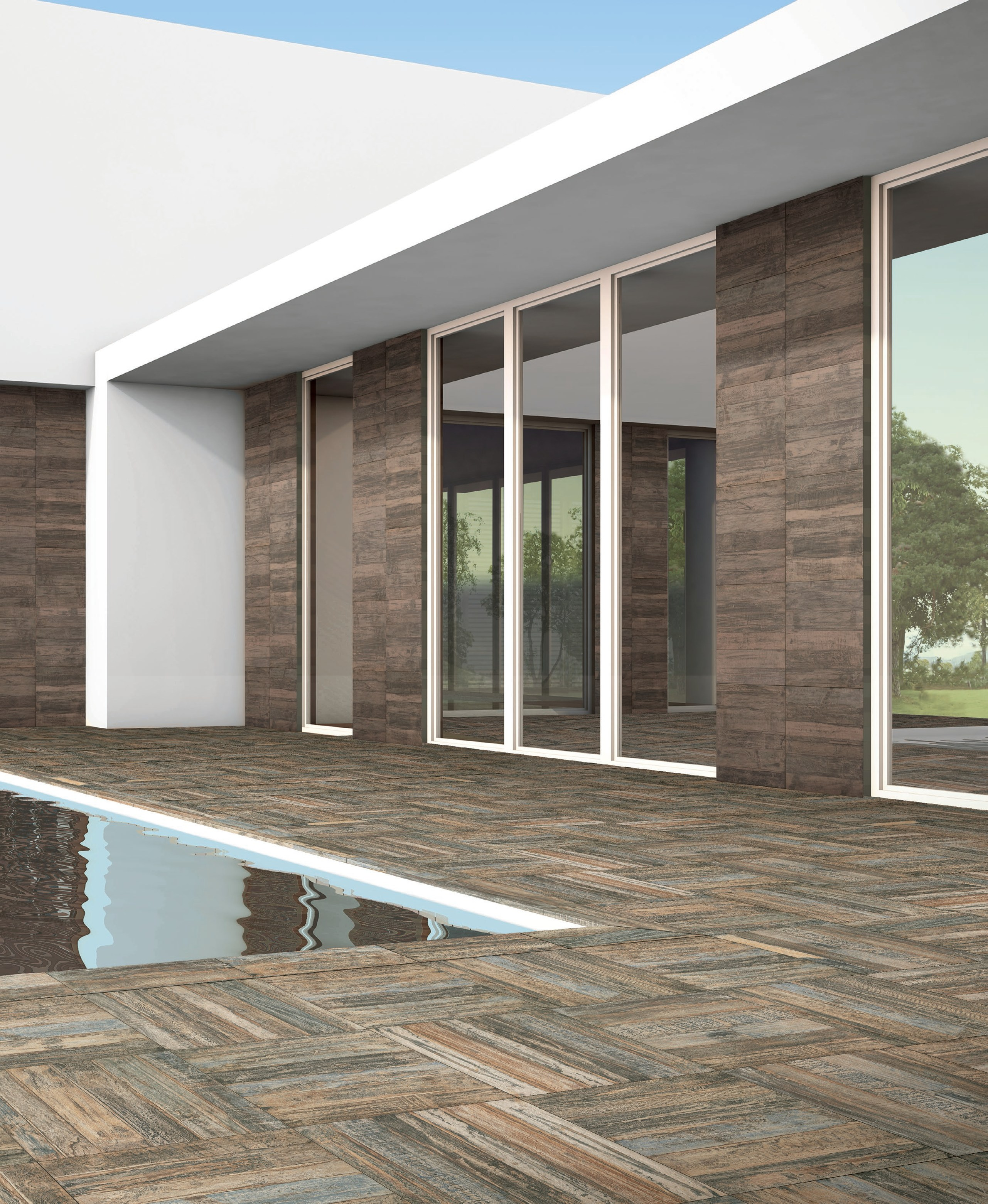 Baldosa de exterior elegant gallery of suelo de baldosas for Baldosas decorativas