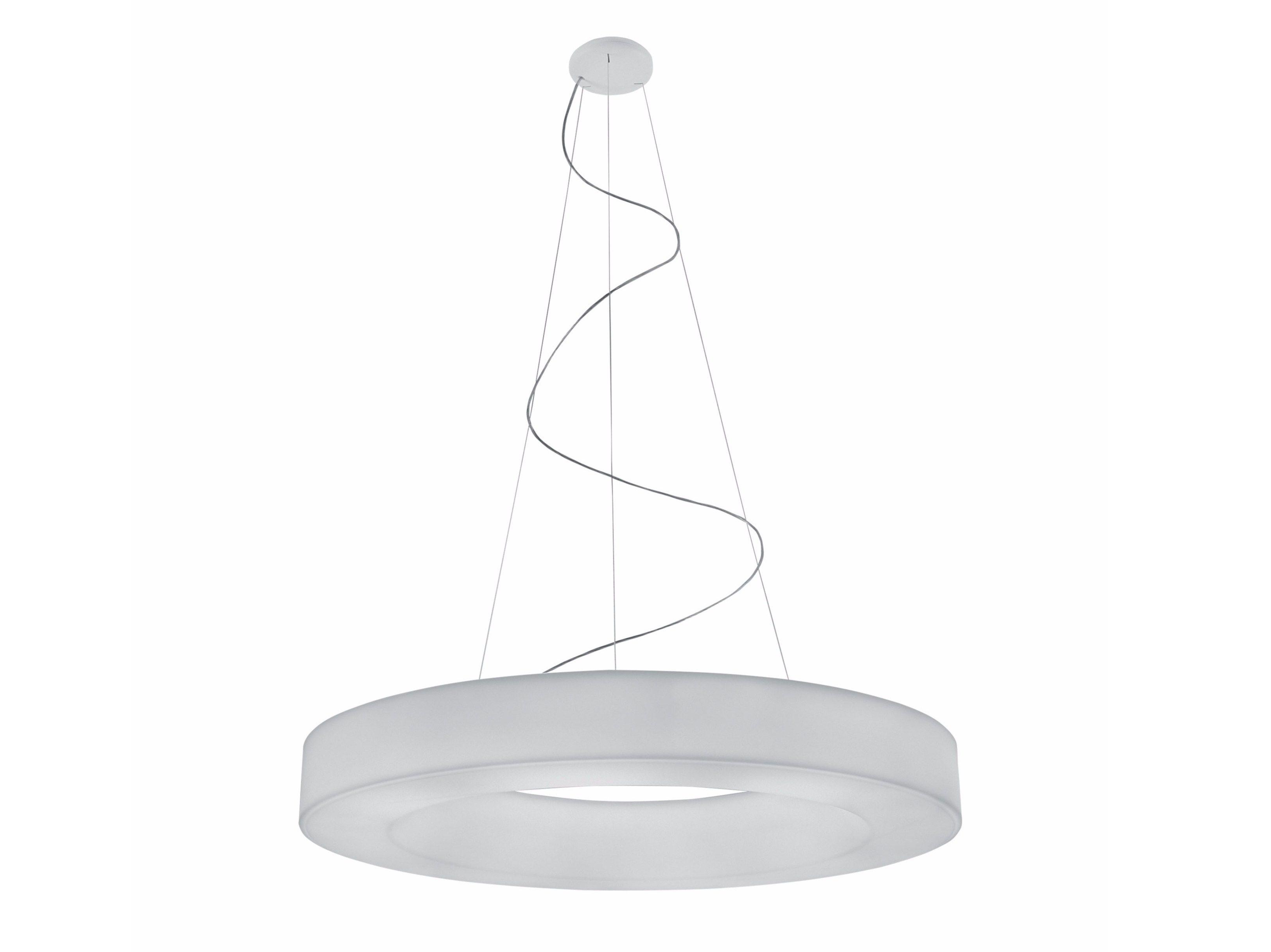 Polyurethane pendant lamp CAMPANA By Lucente design Paolo Mapelli