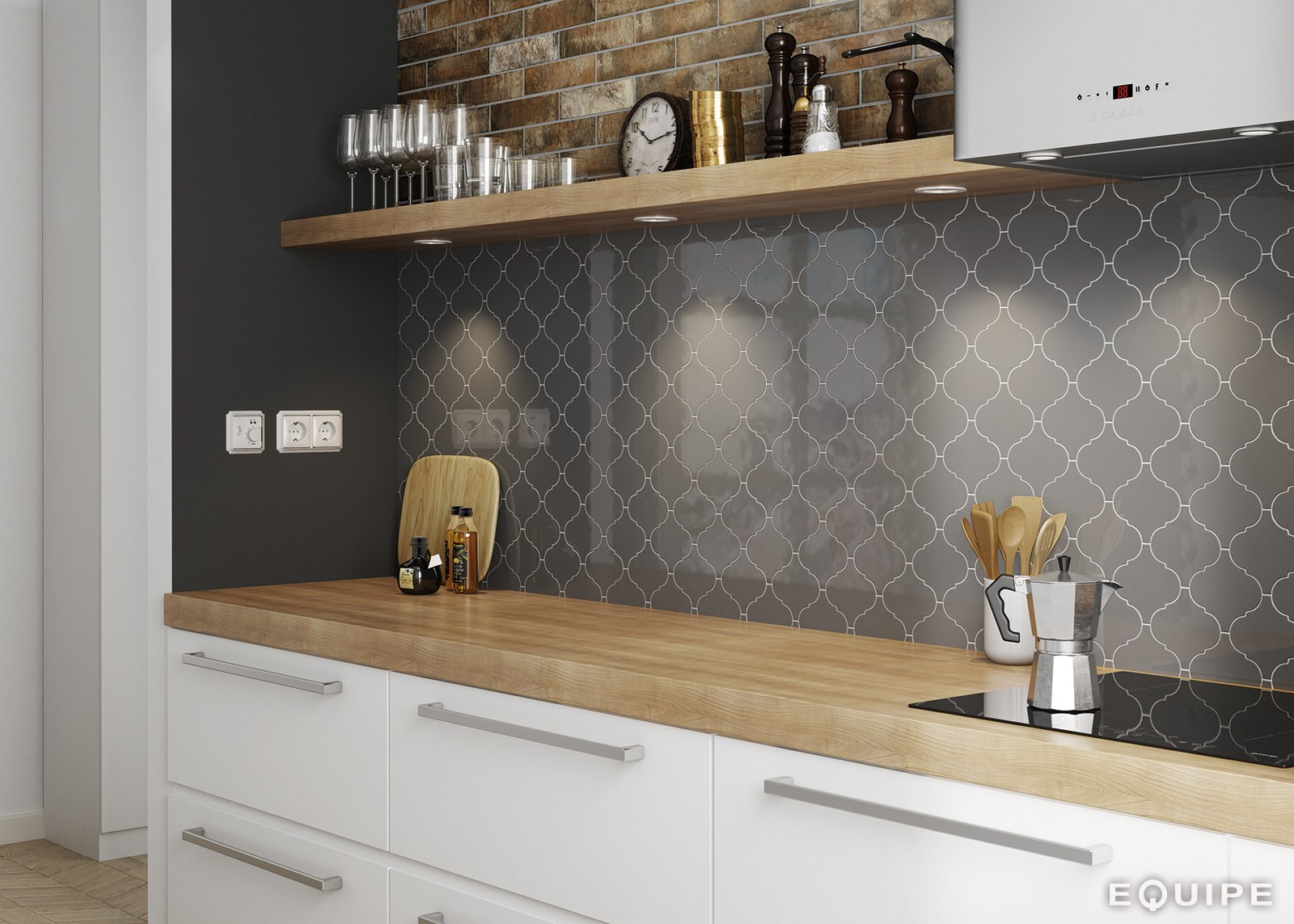 Scale Wall Tiles By Equipe Ceramicas