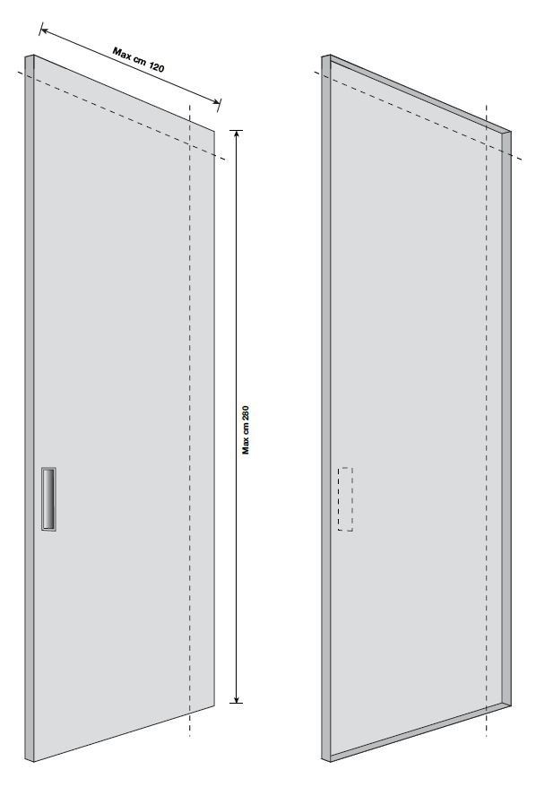 Dimensions SCREEN | Sliding Cabinet Door Dimensions SCREEN | Sliding Cabinet  Door ...