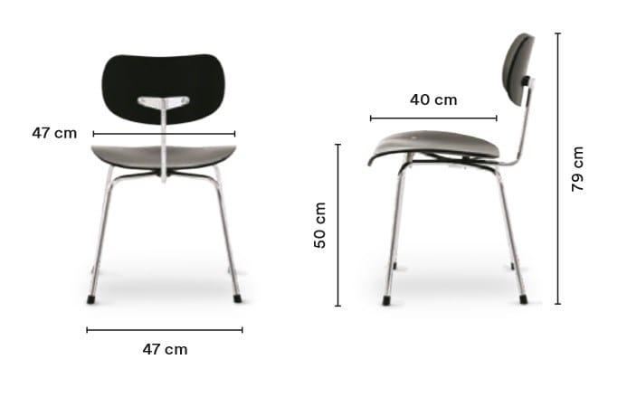 Se 68 Stuhl By Wildespieth Design Egon Eiermann