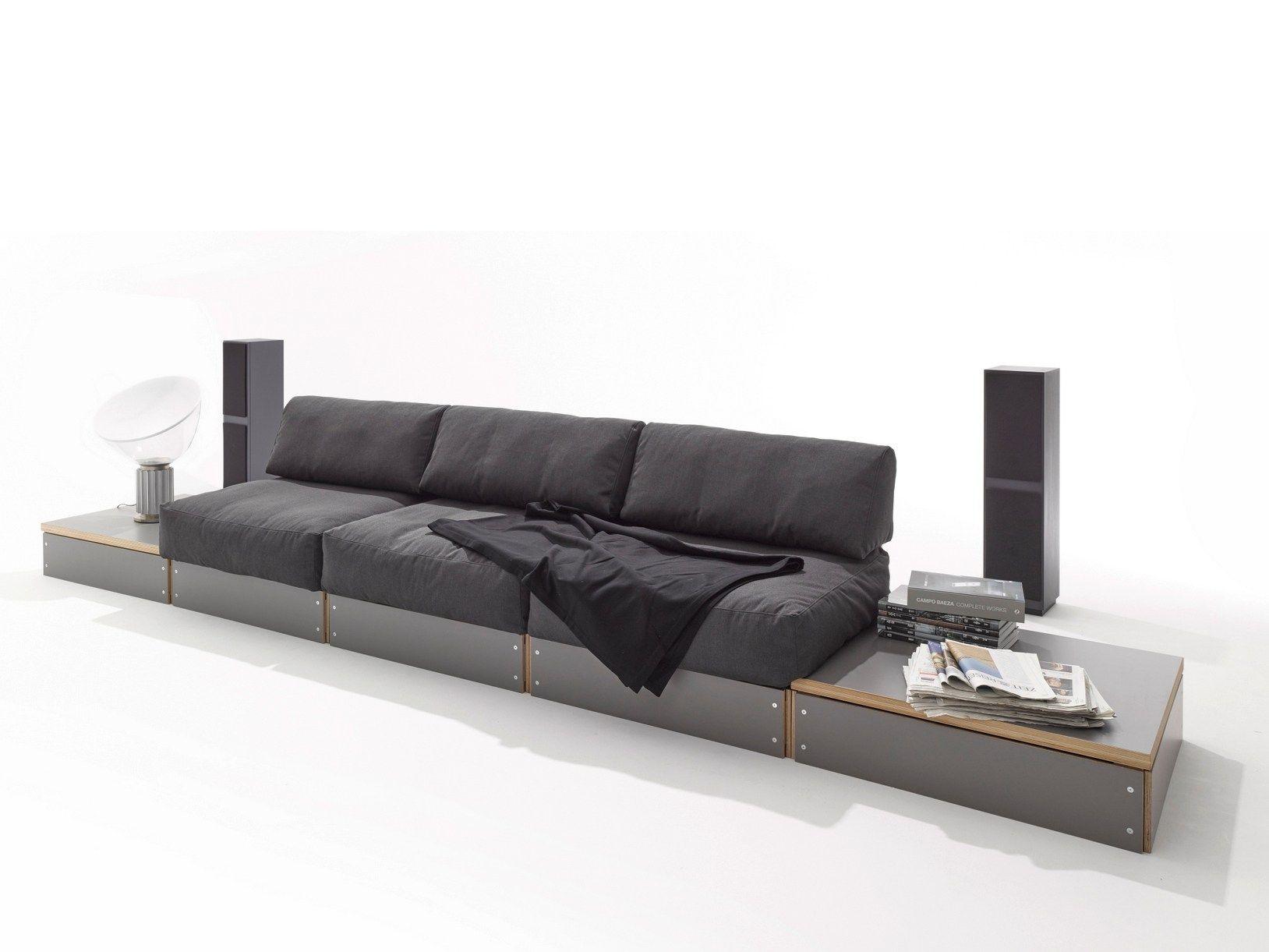 Modular sofa SOFABANK By Müller Möbelwerkstätten design Rolf Heide