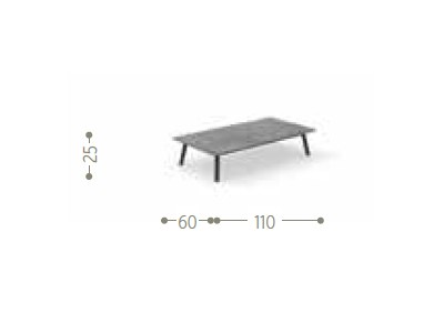 Dimensions SOHO | Coffee table