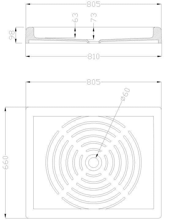 Piatto Doccia Rettangolare Dimensioni.Standard Piatto Doccia Rettangolare