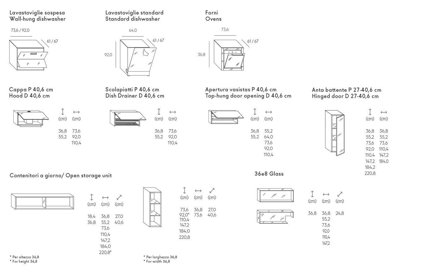 36E8 STEEL PLUS | Cucina con isola Collezione 36e8 By Lago design ...