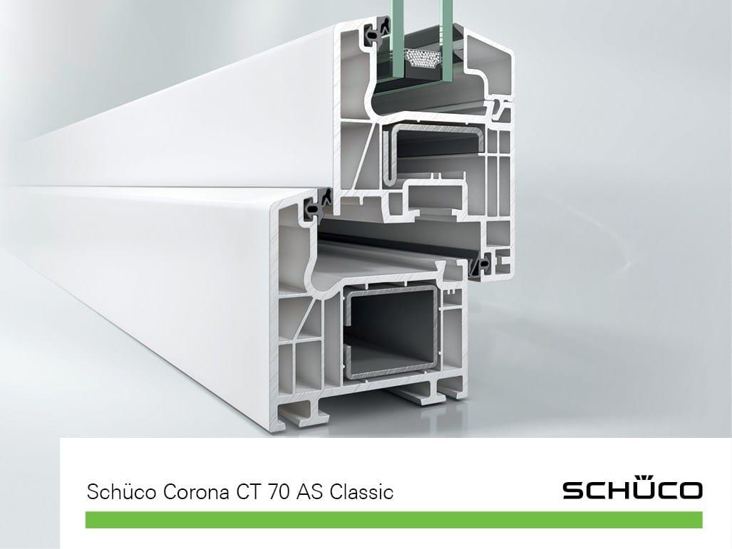 pvc window sch co corona ct 70 as classic by sch co pws italia. Black Bedroom Furniture Sets. Home Design Ideas