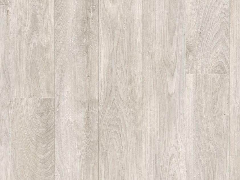 Vinyl Flooring With Wood Effect Soft Grey Oak Classic