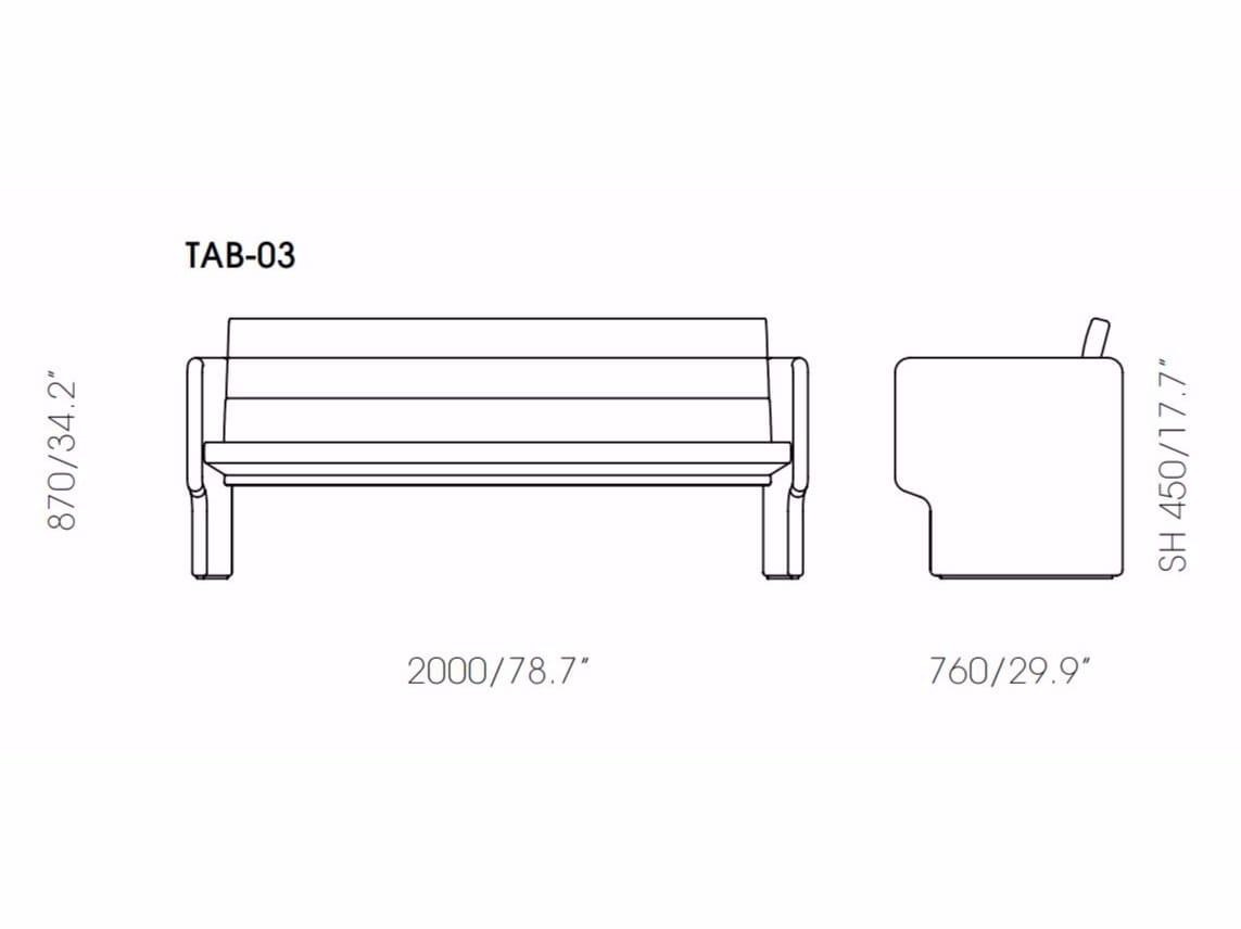 Italian Leather Sofa Bass Tab Refil
