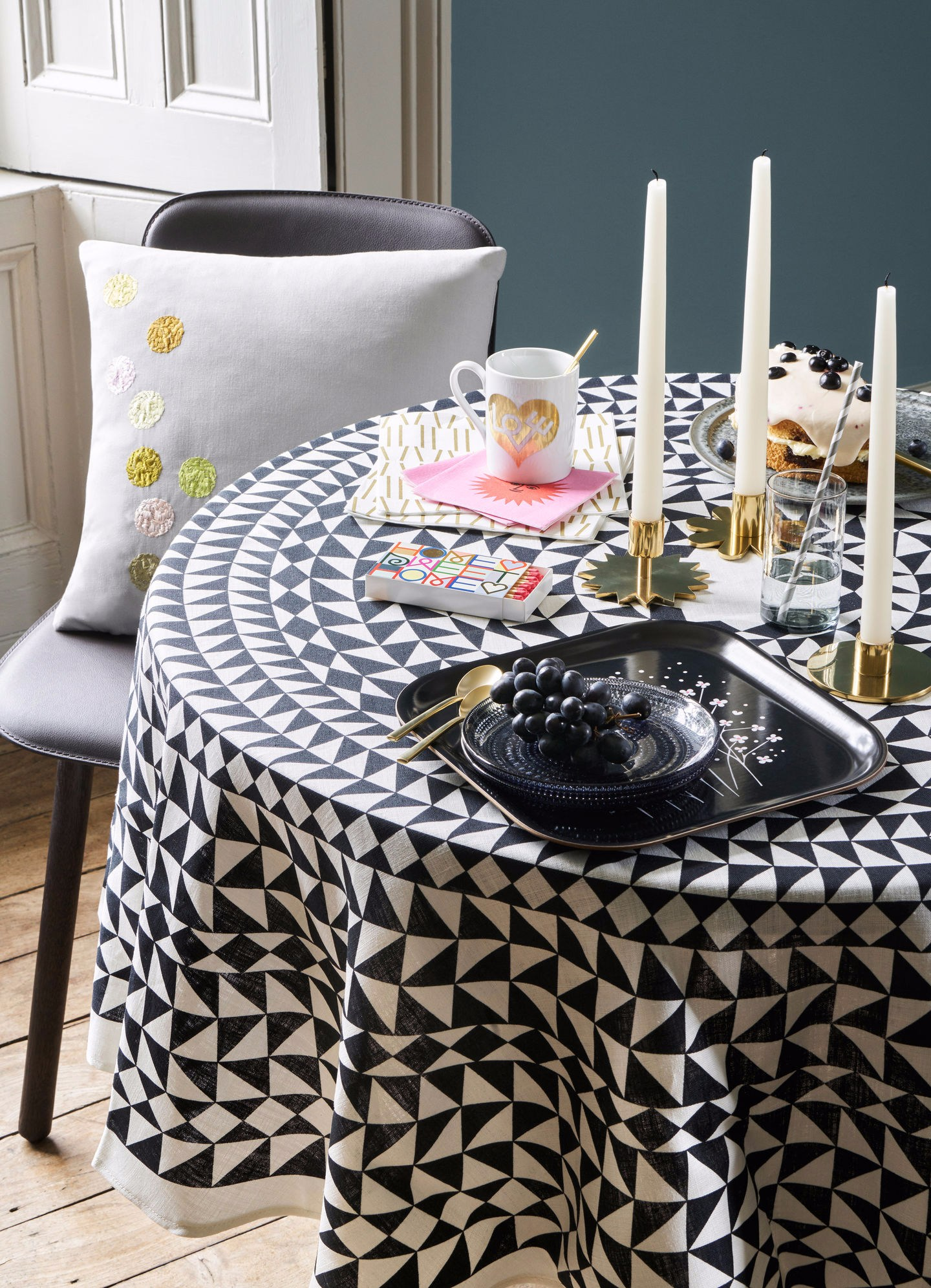 Nice Linen Tablecloth TABLECLOTHS GEOMETRIC Tablecloths Collection By Vitra  Design Alexander Girard