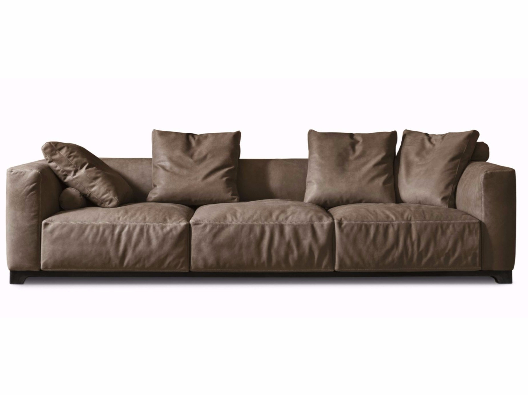 Leather sofa LAND By ALIVAR design Giuseppe Bavuso
