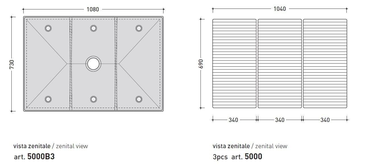 Tatami | Receveur De Douche Modulable By Ceramica Flaminia Design