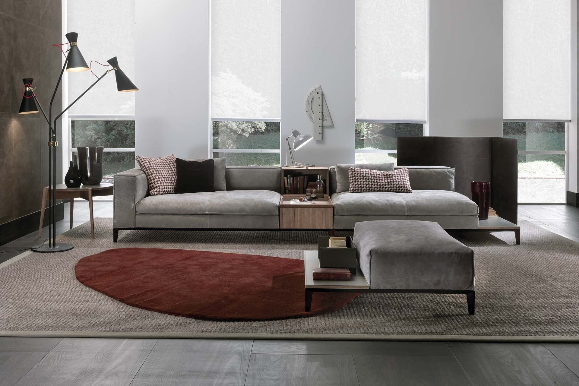 taylor sectional sofa by frigerio salotti