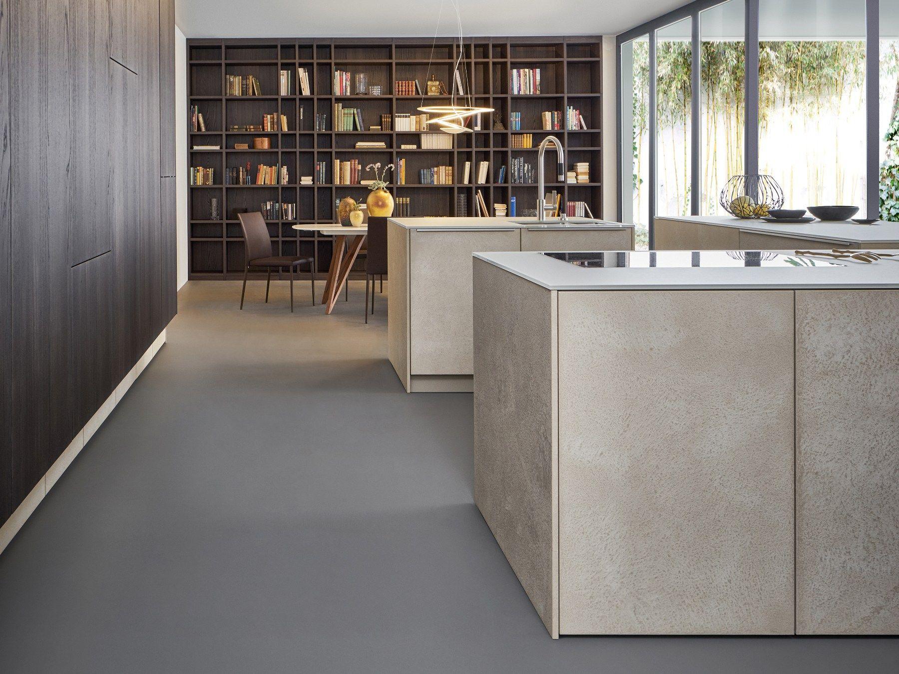 Küche Mit Kücheninsel Topos | Stoneleicht