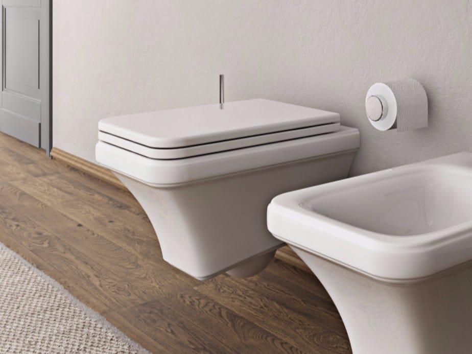 Hidra Ceramica Sanitari.Classic Style Wall Hung Toilets Archiproducts