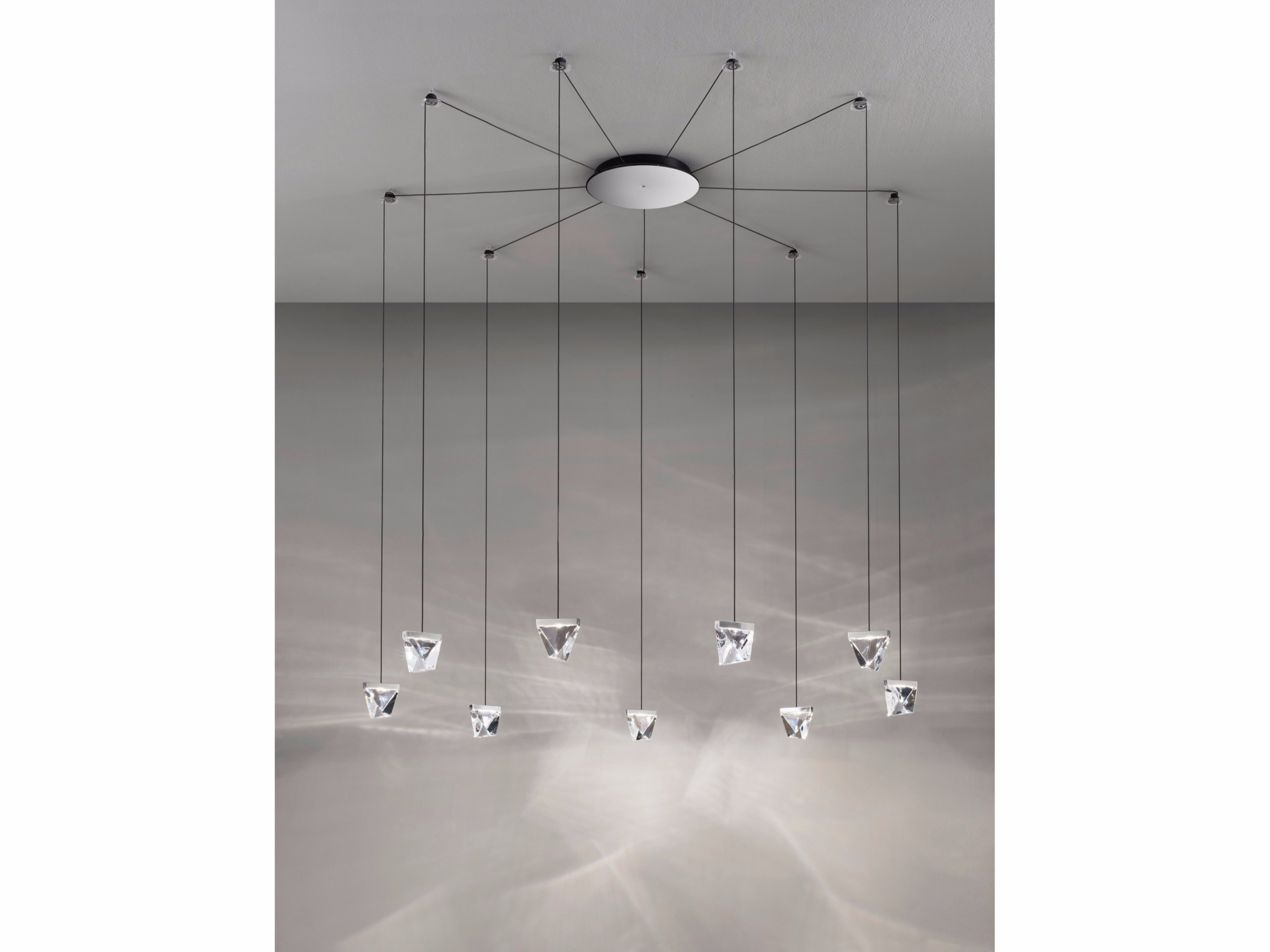 Direct light crystal pendant l& MULTISPOT BELUGA | Pendant l& Multispot Collection By Fabbian design Marc Sadler  sc 1 st  Archiproducts & Direct light crystal pendant lamp MULTISPOT BELUGA | Pendant lamp ... azcodes.com