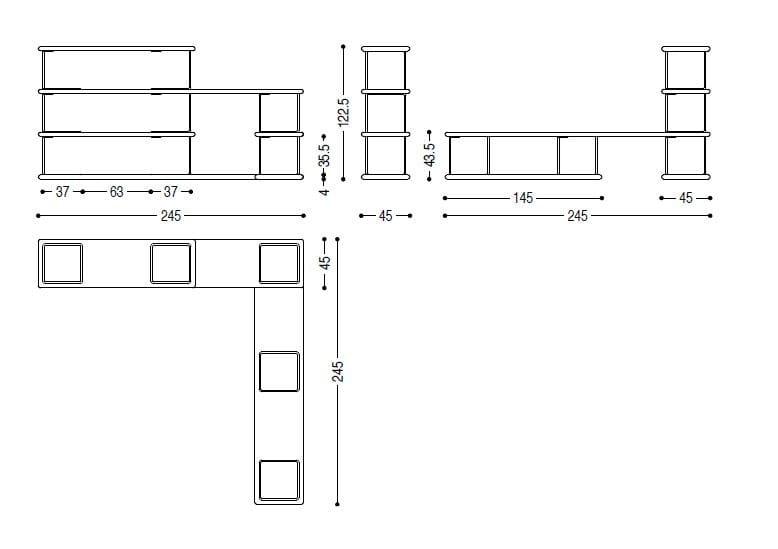 bookcase schematic online wiring diagramtubular bookcase by riva 1920 design jamie duriedimensions tubular bookcase