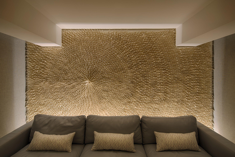 Tulip radial wool felt decorative acoustical panel by anne kyyr quinn design anne kyyr quinn - Decorative acoustical wall panels ...