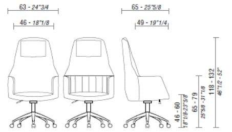 leather executive chair with headrest tulip executive chair tulip