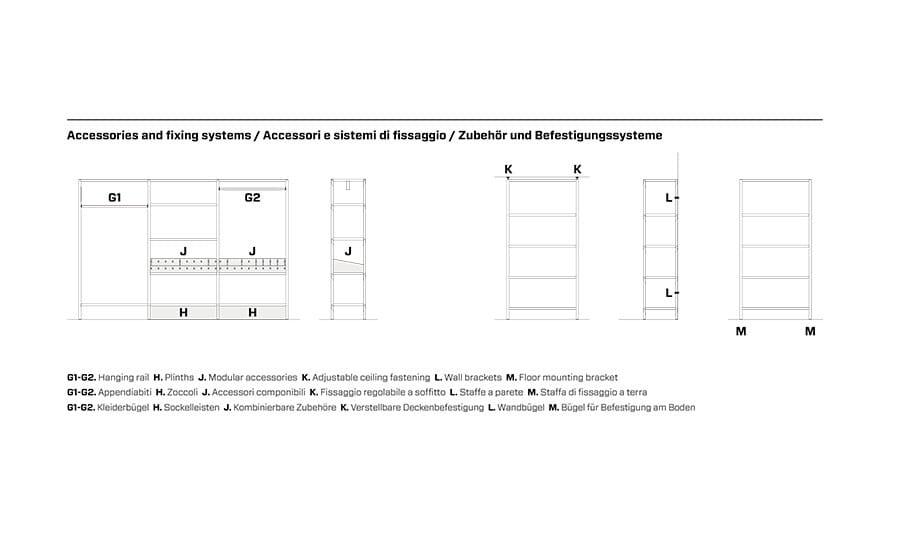 stunning begehbarer kleiderschrank modular system contemporary ... - Begehbarer Kleiderschrank Modular System