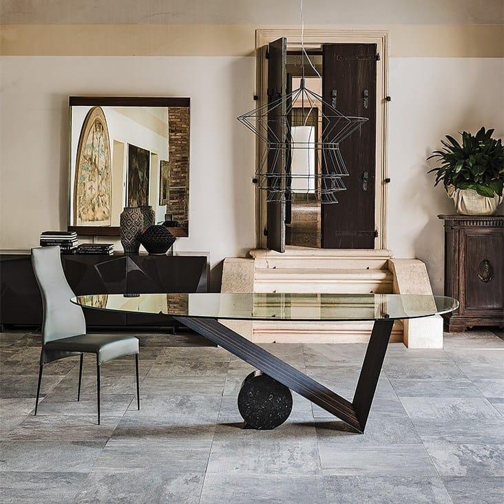 valentino tavolo by cattelan italia design emanuele zenere. Black Bedroom Furniture Sets. Home Design Ideas