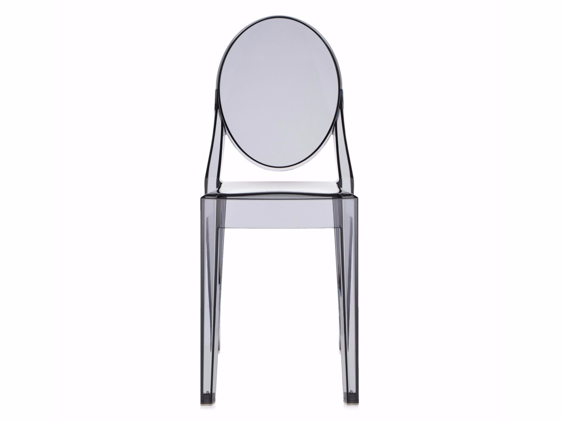 Stackable polycarbonate chair LOUIS GHOST By Kartell design