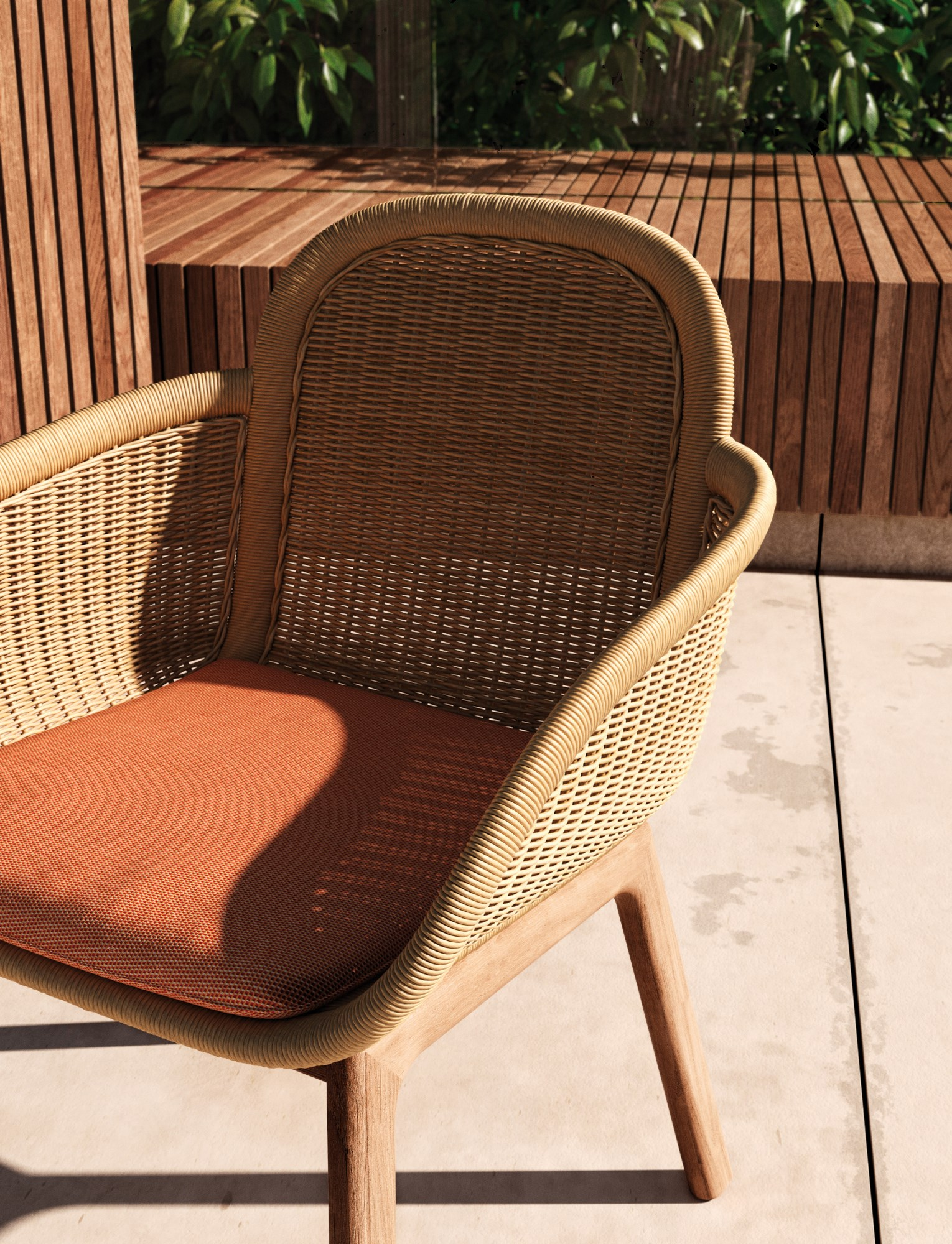 Vimini Chair Vimini Collection By Kettal Design Patricia