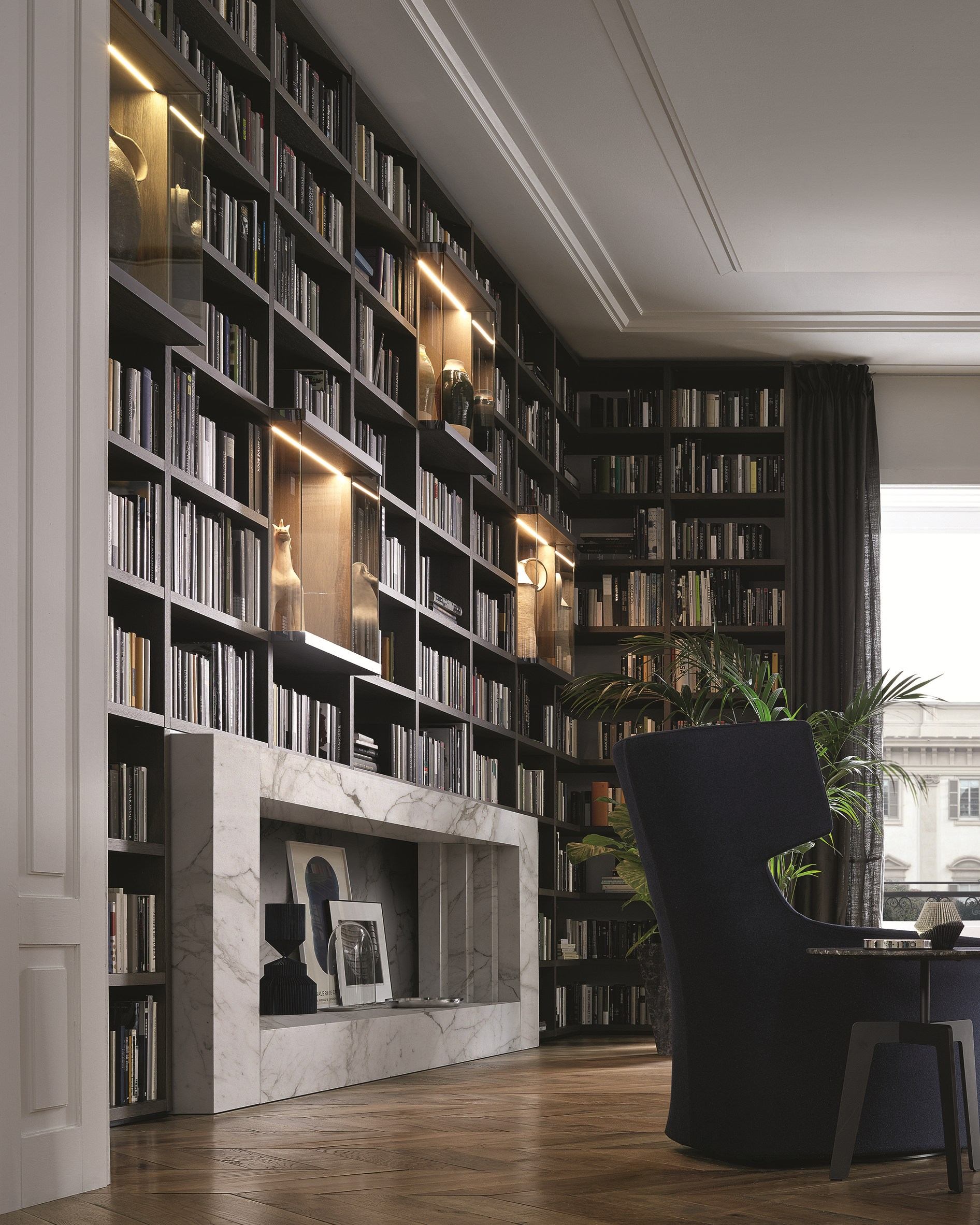 Contemporary Bookshelf Designs