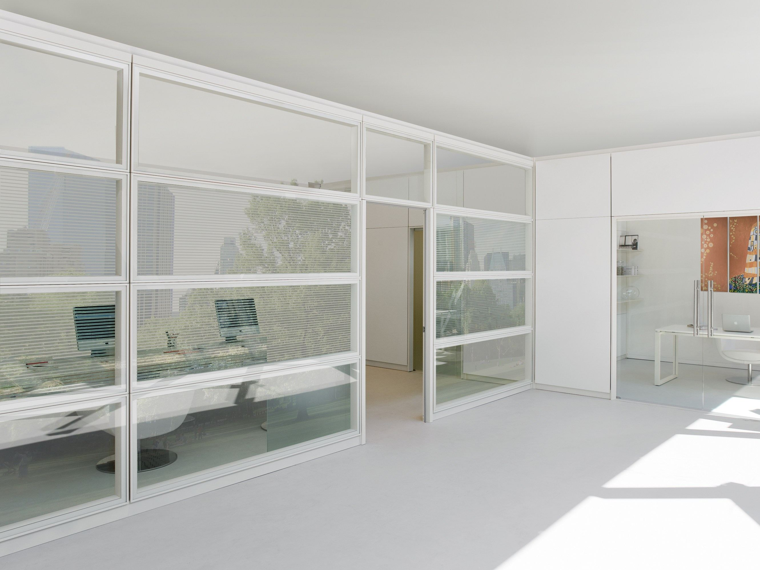 Parete mobile in vetro per ufficio west by archiutti for Design ufficio vetro