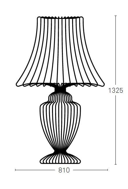 WIRE   Floor lamp By Deadgood