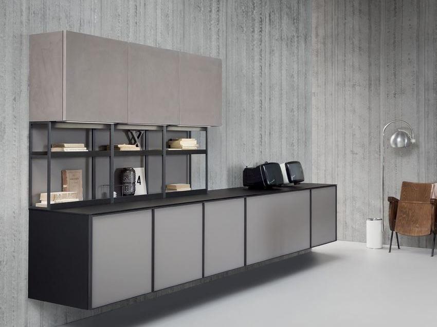 Beautiful parete attrezzata per cucina contemporary - Parete attrezzata per cucina ...