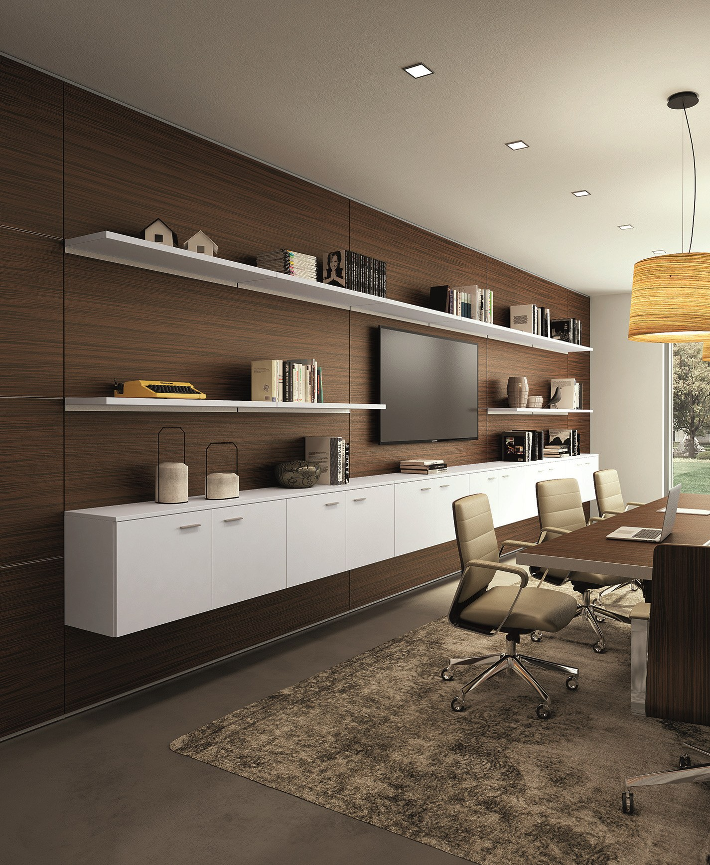 Office partition xw p1 by quadrifoglio for Quadrifoglio sistemi d arredo