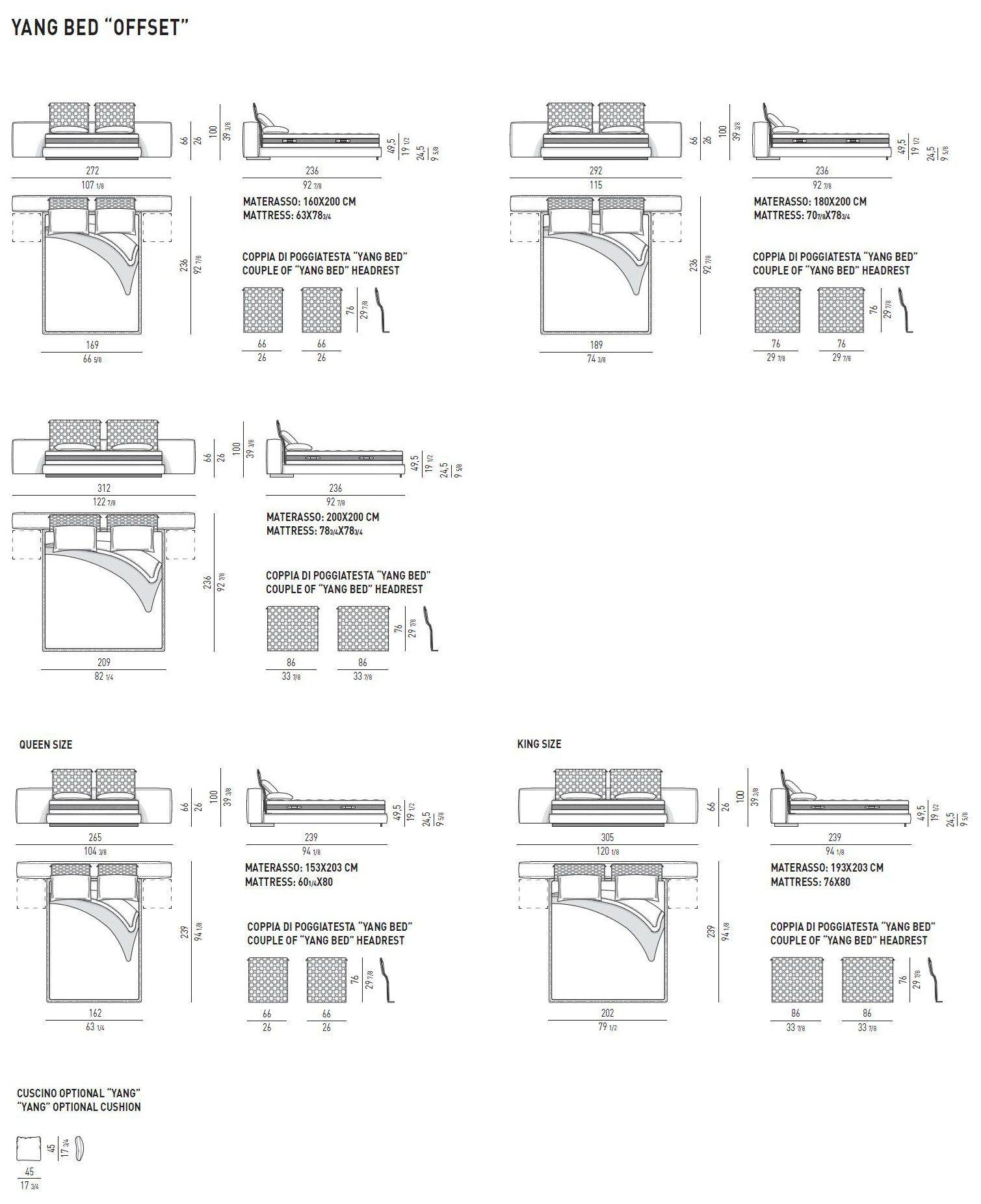 minotti yang sofa dimensions. Black Bedroom Furniture Sets. Home Design Ideas