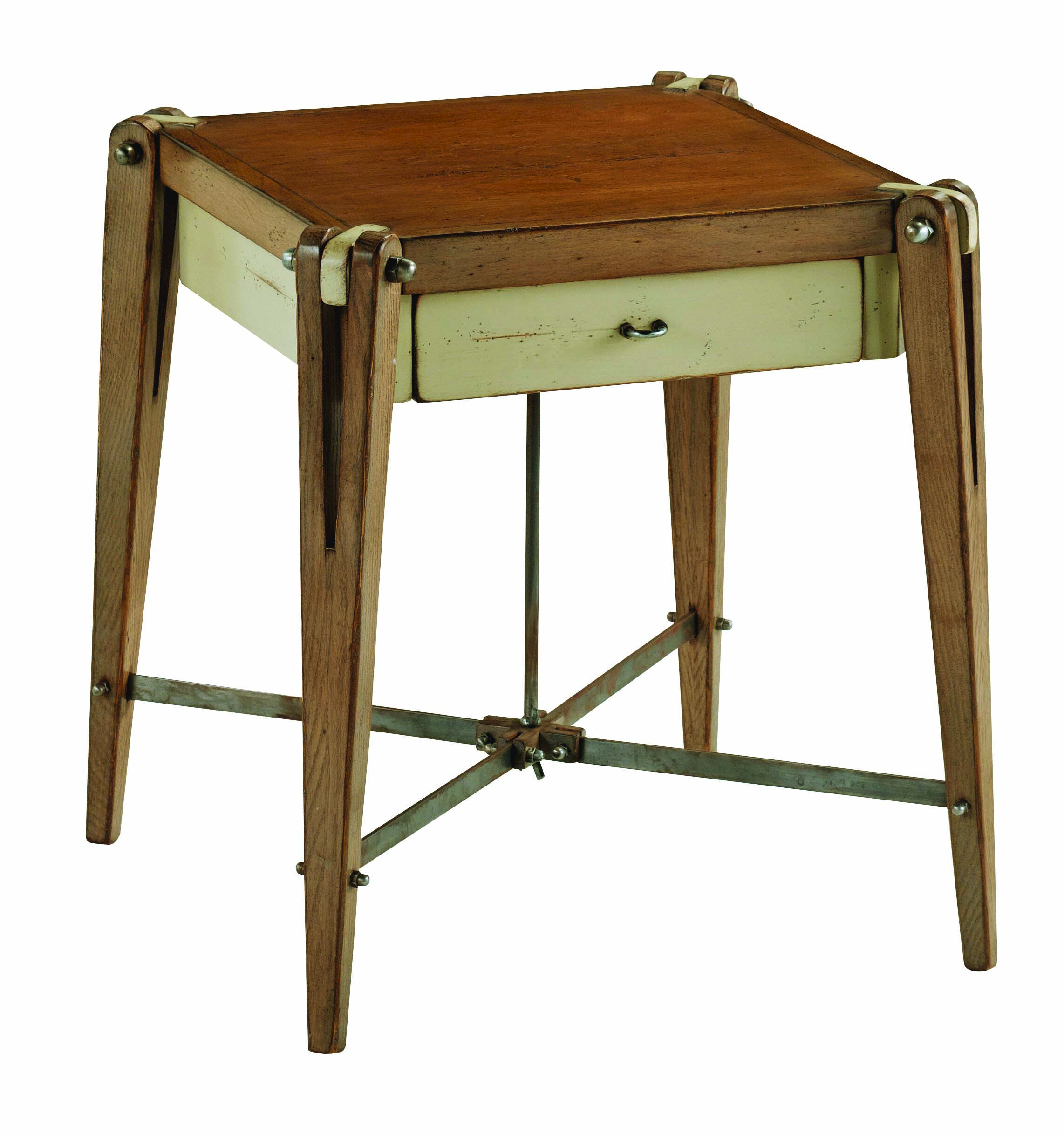 Solid Wood Side Table NAVE