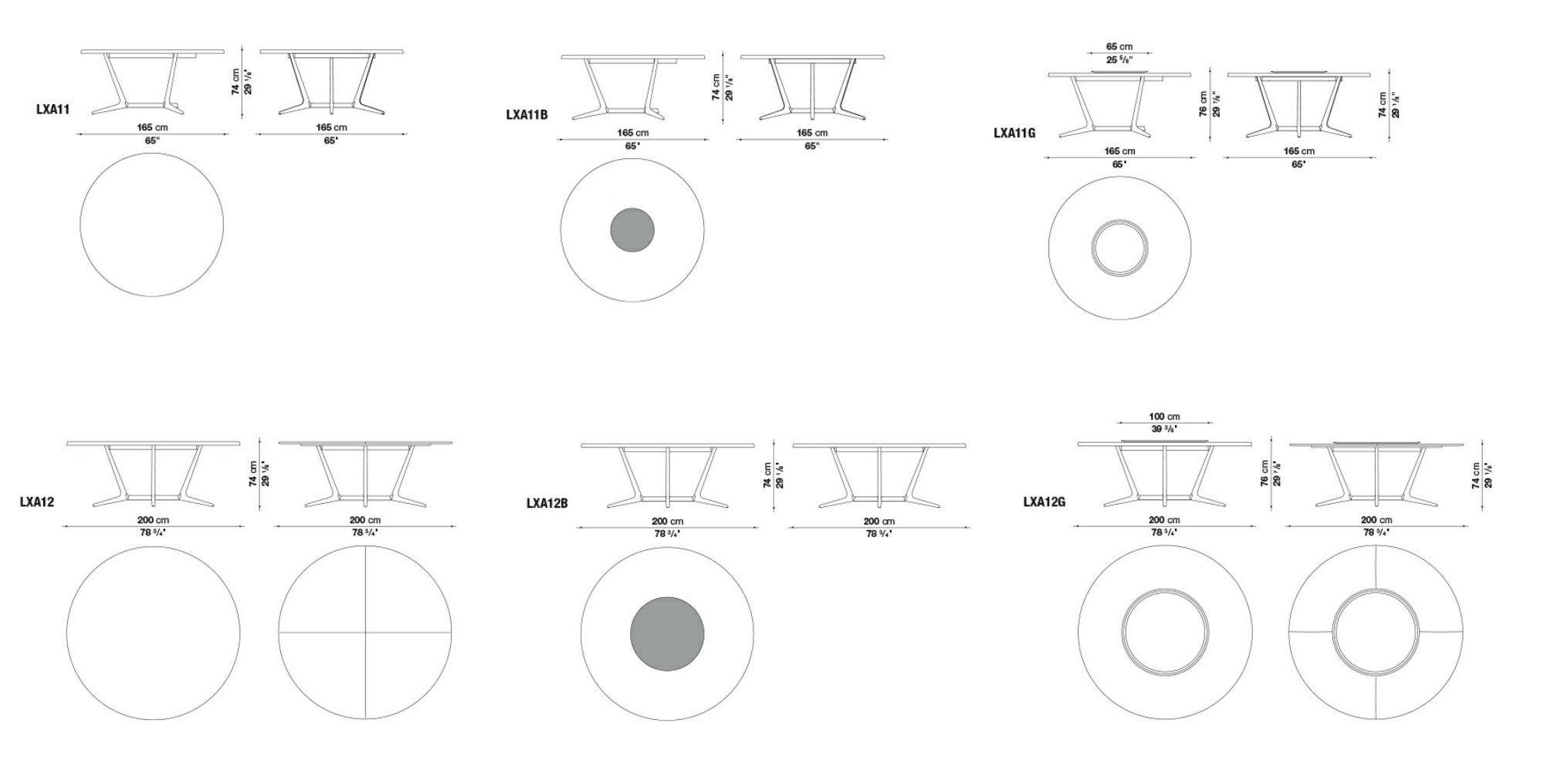 Dimensions ASTRUM | Round Table