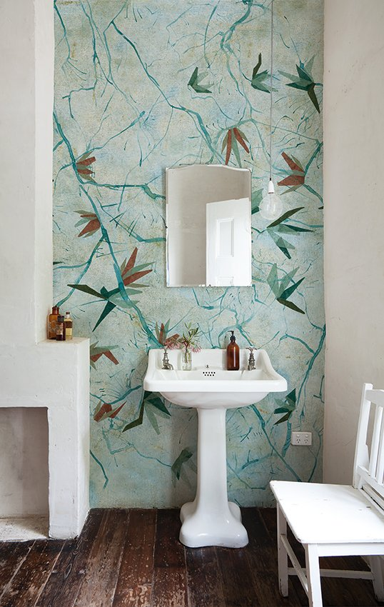 Motif Bathroom Wallpaper Augusta Wet System 16 Collection