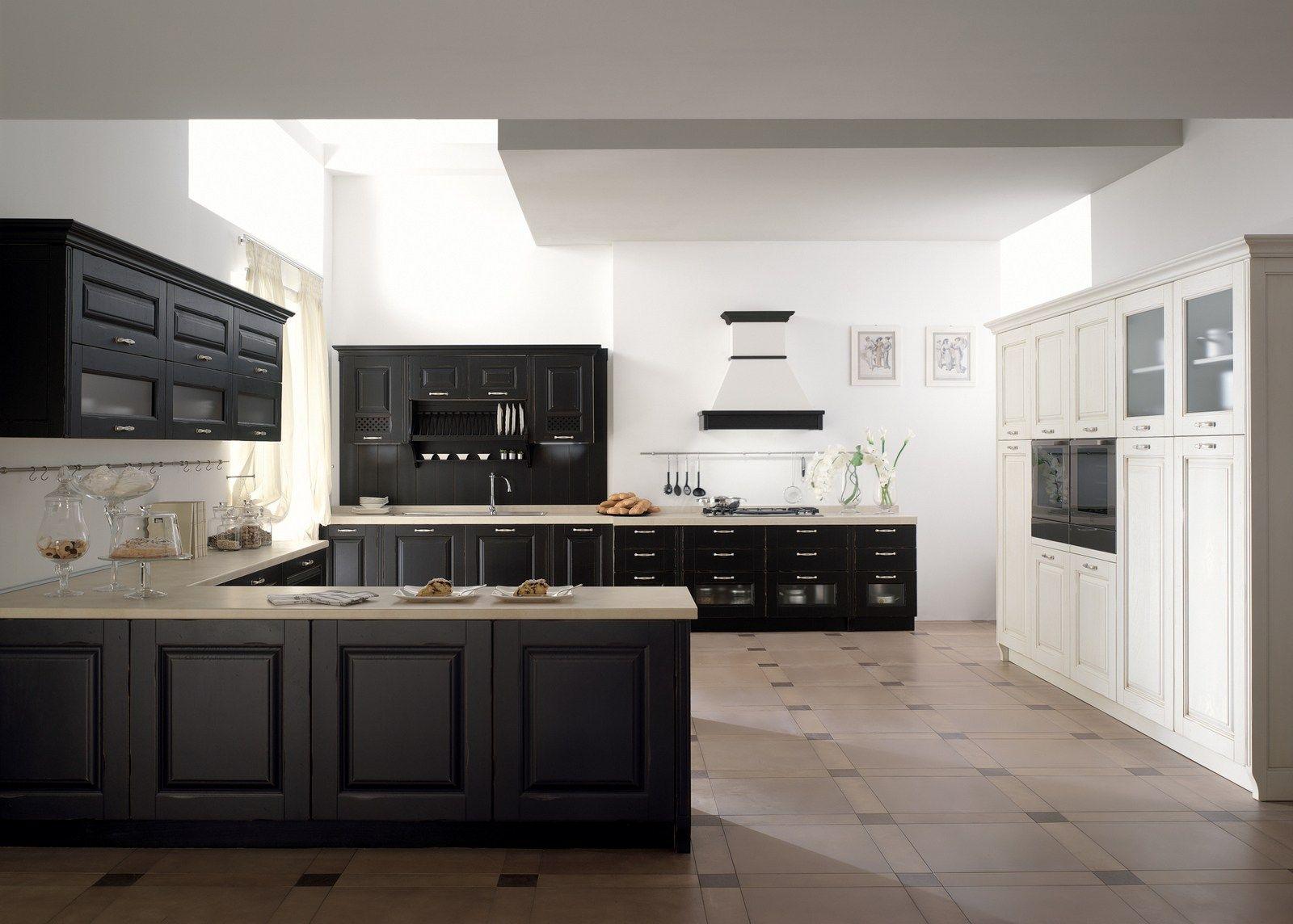 Cucina componibile in frassino con penisola carmen cucina con penisola collezione carmen by - Mondo convenienza perugia cucine ...