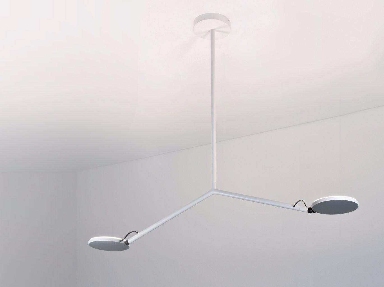 LED Adjustable Metal Ceiling Lamp CARMEN By PANZERI Design Carmen Ferrara