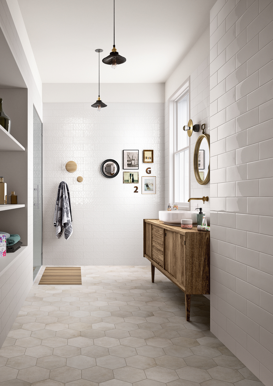 White Paste Wall Floor Tiles Clayline By Marazzi