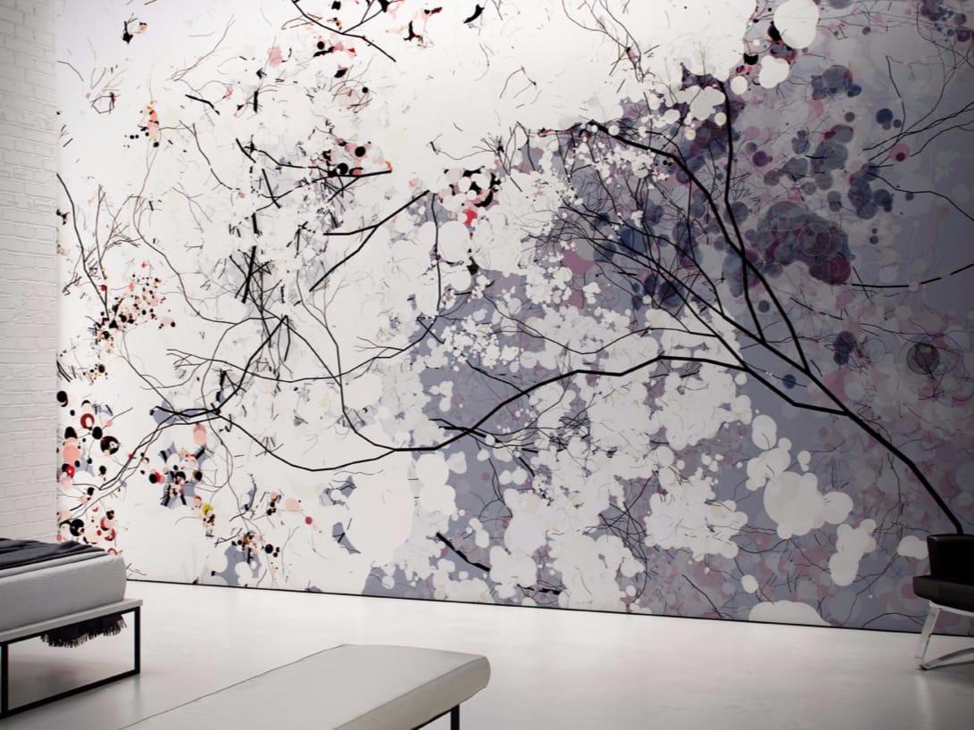 Papel pintado lavable de vinilo de flores clouds colecci n - Papeles pintados lavables ...