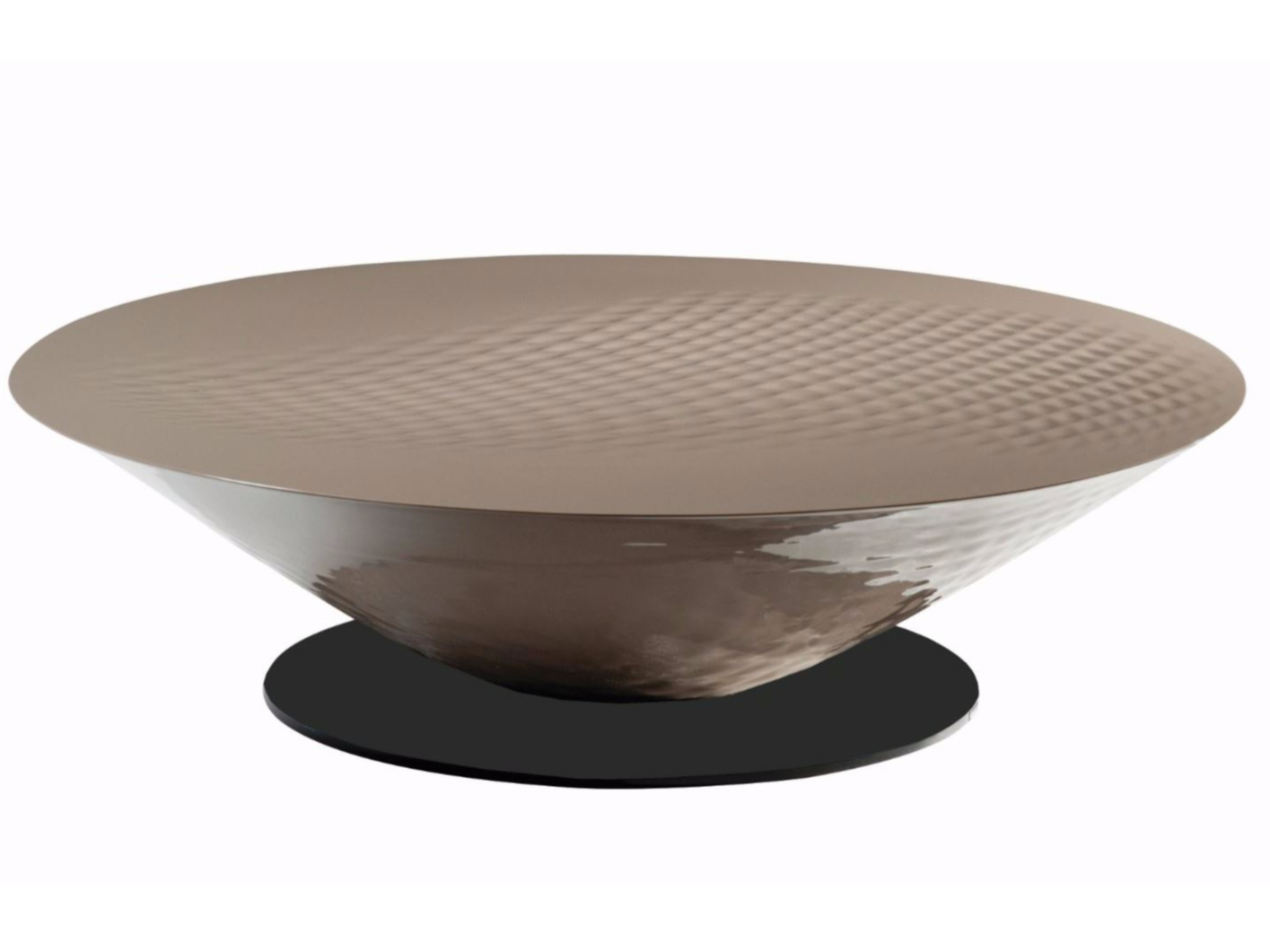 Moorea coffee table moorea collection by roche bobois for Table extensible roche bobois