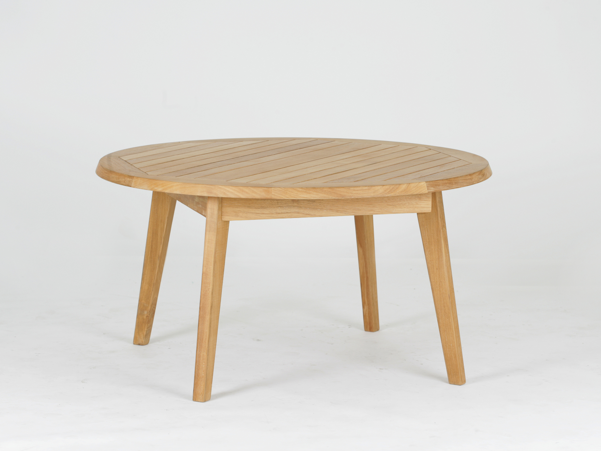 Teak coffee table BUTTERFLY By ecollection