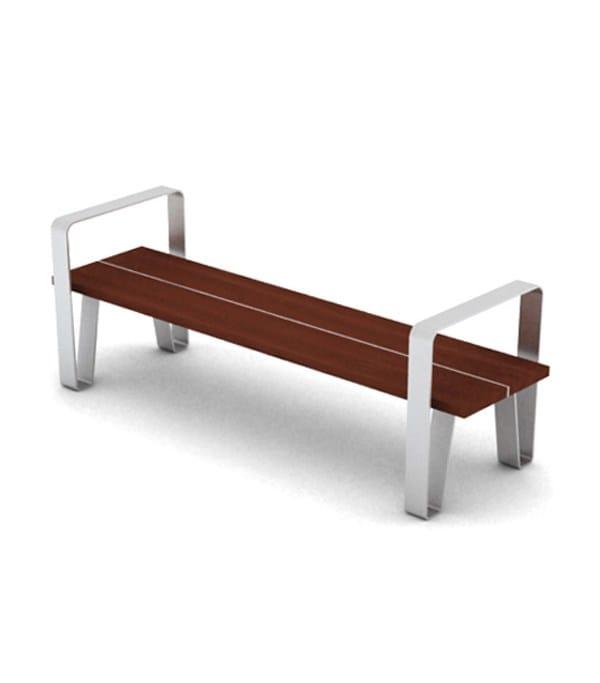 stainless steel-iroko wood