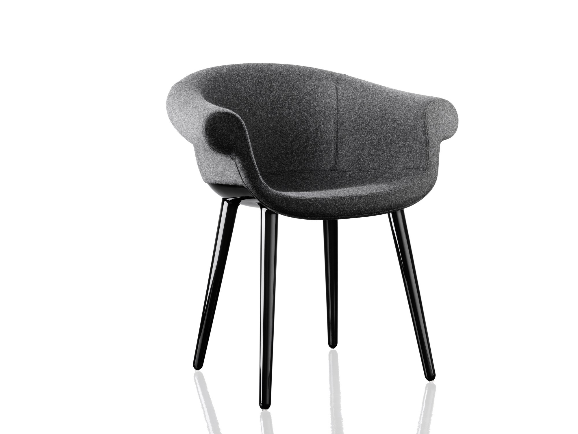 Upholstered Leather Easy Chair CYBORG LORD | Leather Easy Chair Cyborg  Collection By Magis Design Marcel Wanders