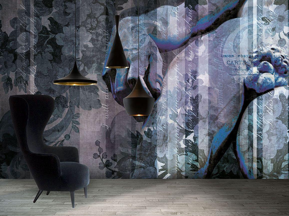 papier peint lavable panoramique en fibre de verre dd. Black Bedroom Furniture Sets. Home Design Ideas