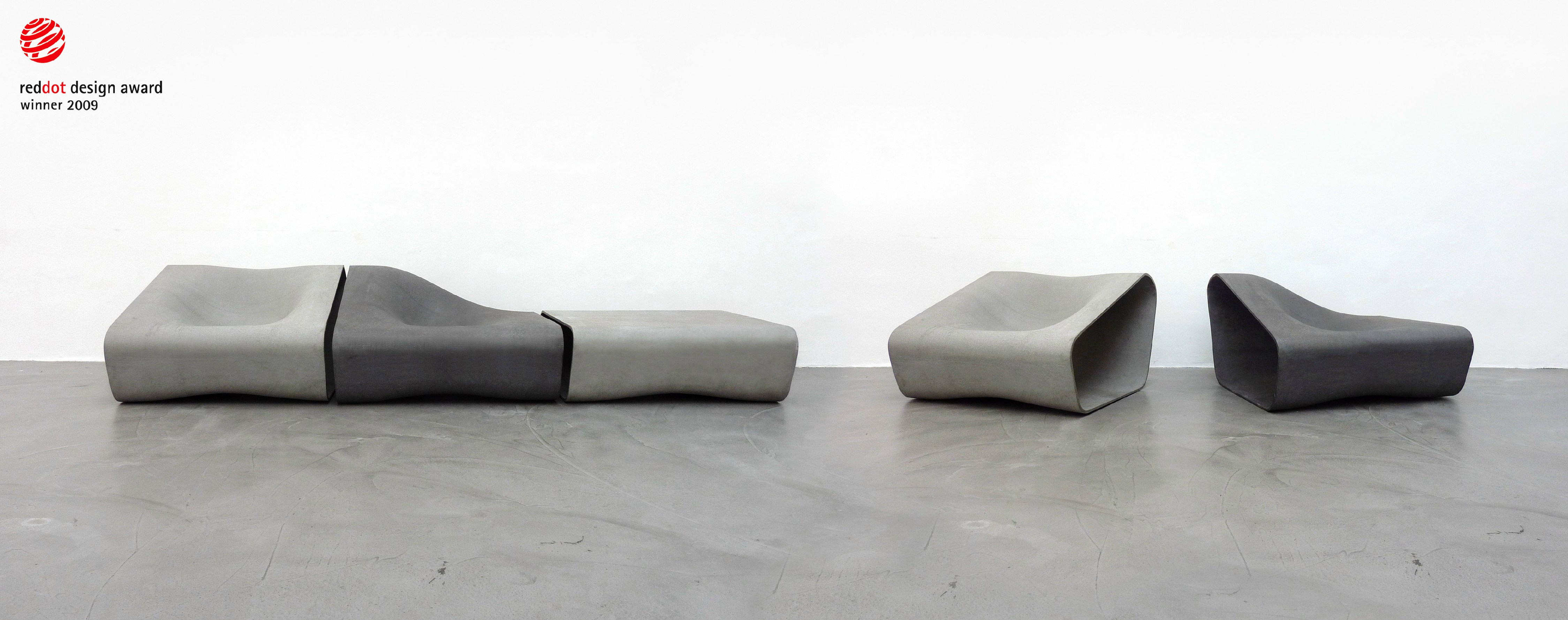 DUNE Bench By SWISSPEARL Italia