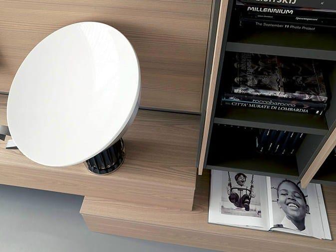 freestanding tv wall system edis 2 by fimar - Soggiorno Fimar 2
