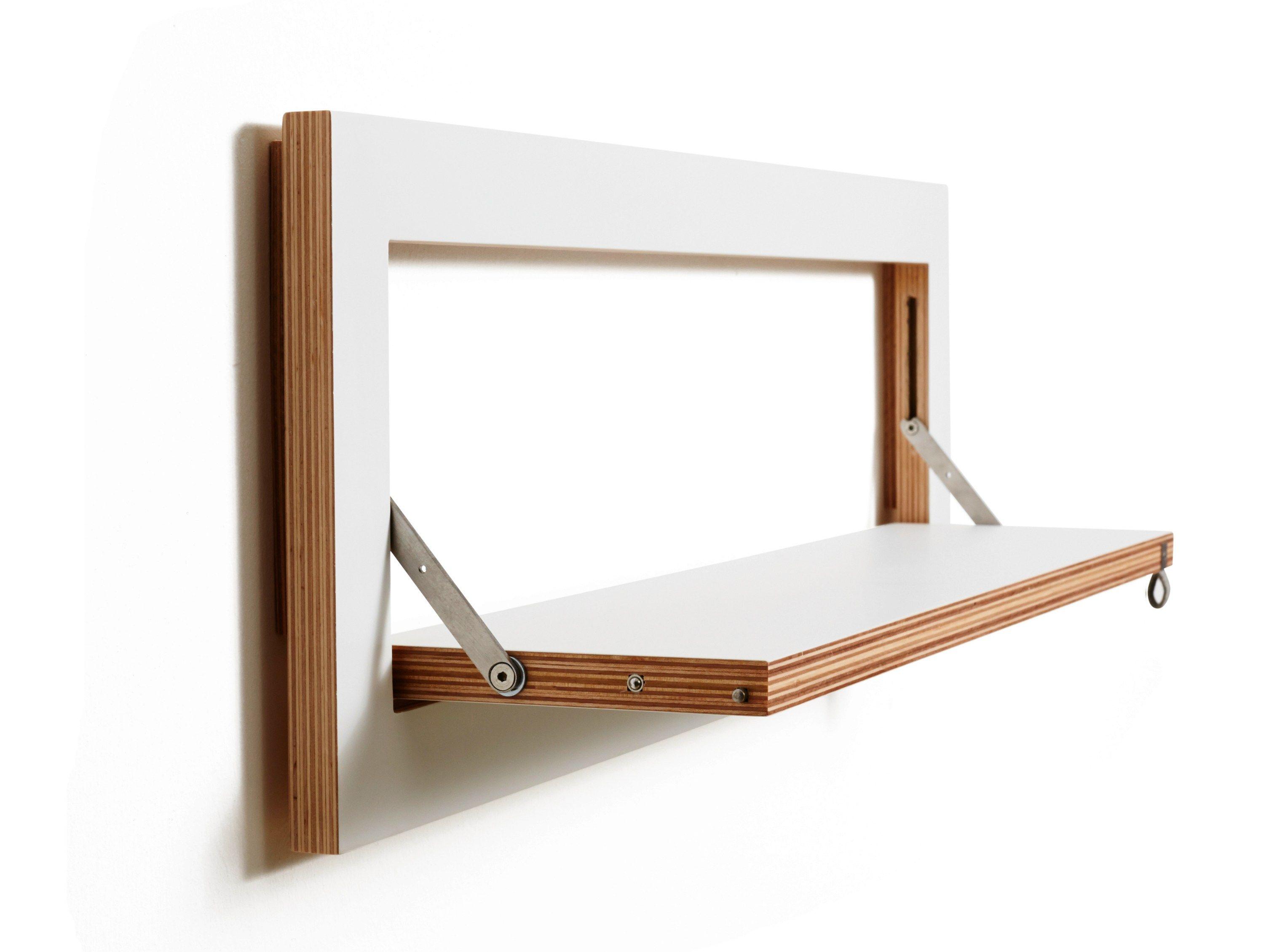 Wall mounted folding shelf shelf design remarkable modern for Table pliante walmart