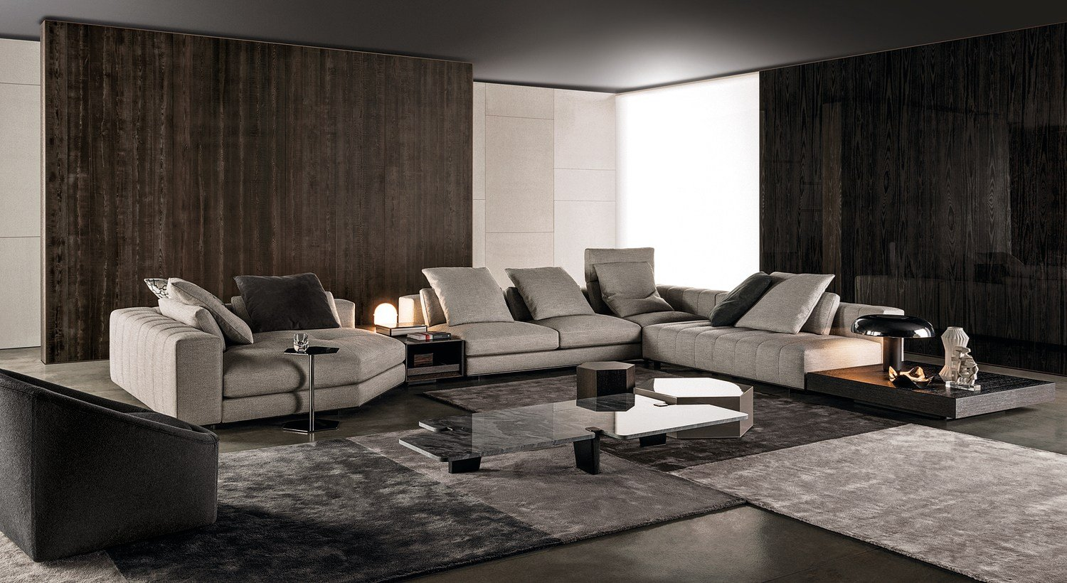 Sofa FREEMAN SEATING SYSTEM By Minotti