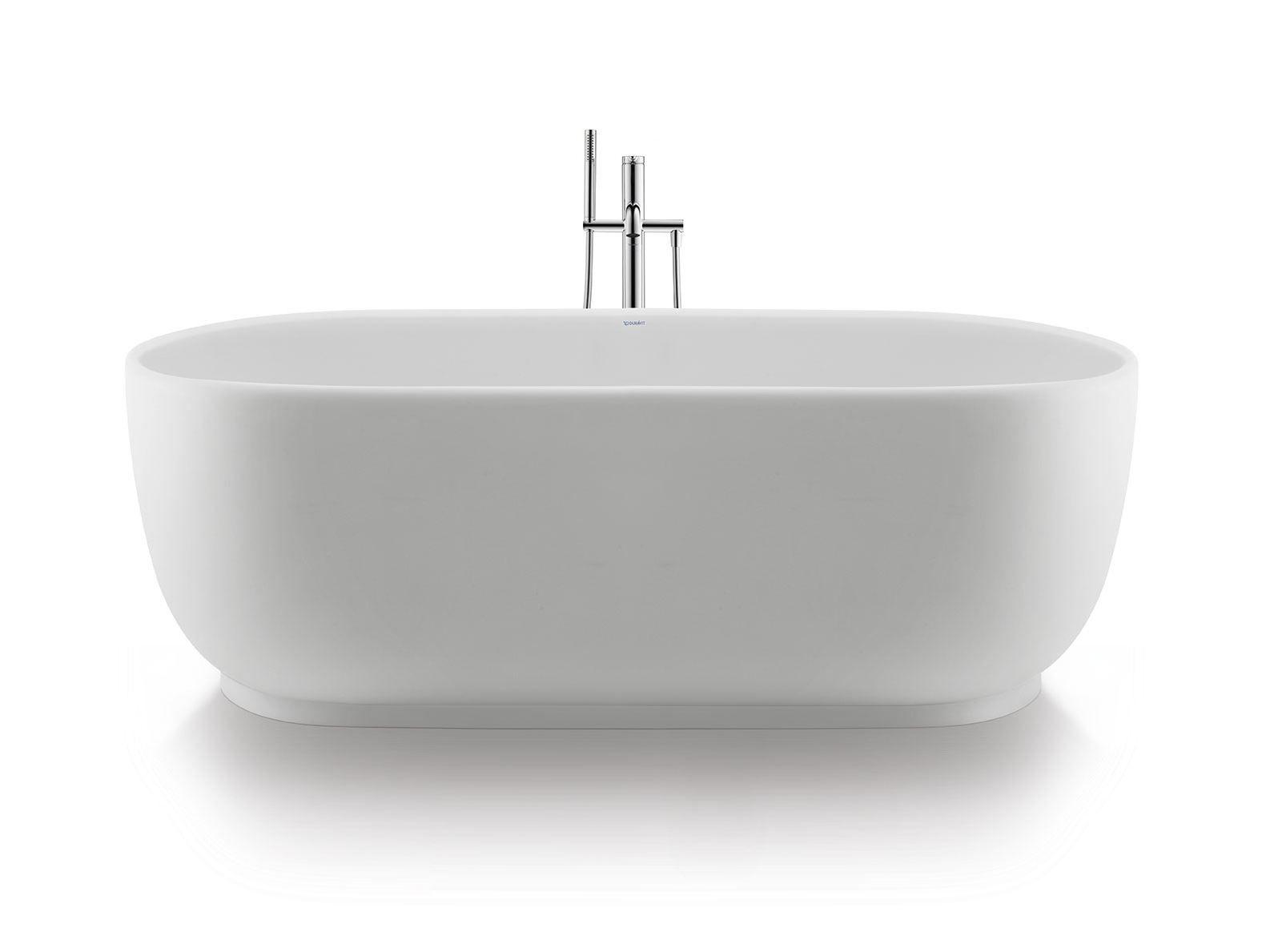 Luv vasca da bagno centro stanza collezione luv by duravit design cecilie manz - Vasca da bagno duravit ...