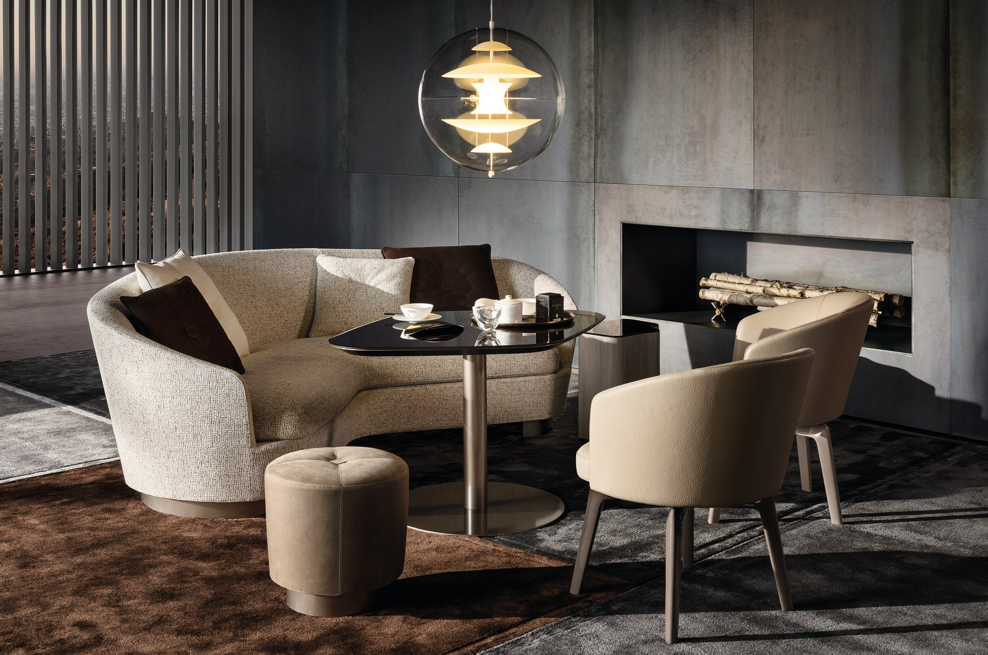 Jacques Curved Sofa Jacques Collection By Minotti